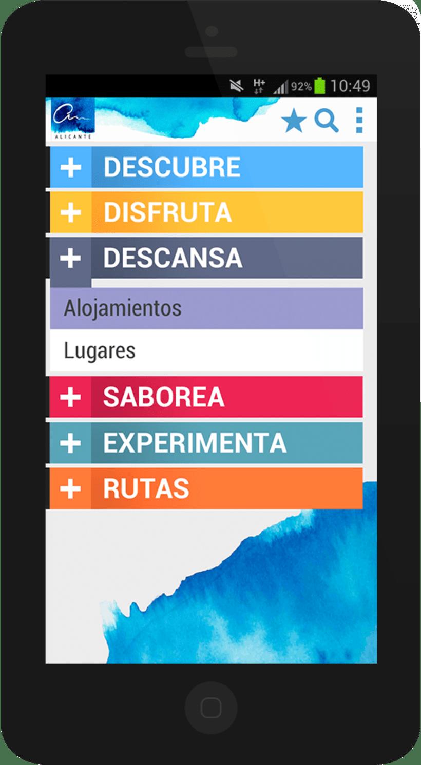 Alicante City mobile app 2