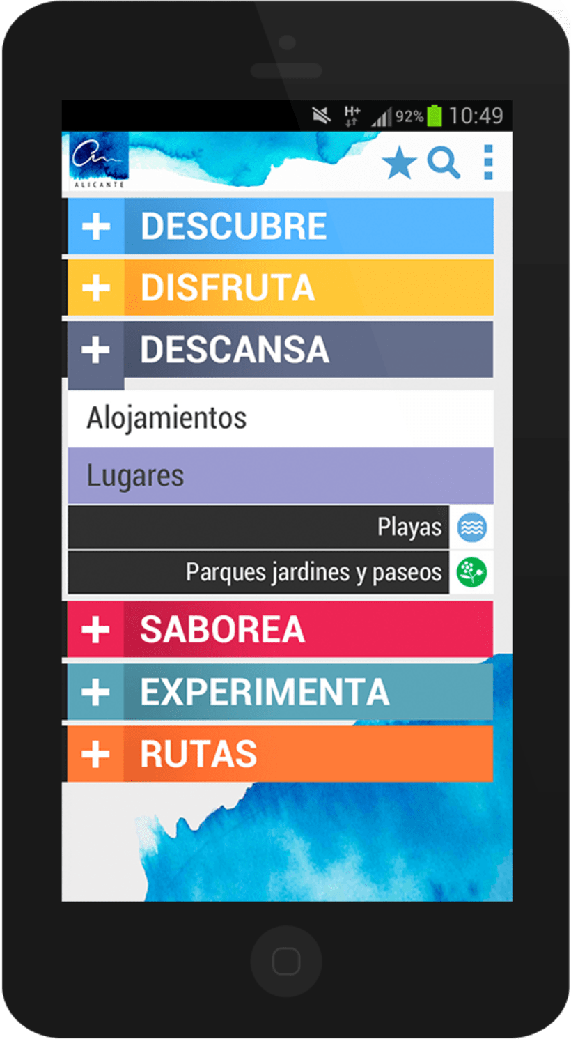 Alicante City mobile app 4