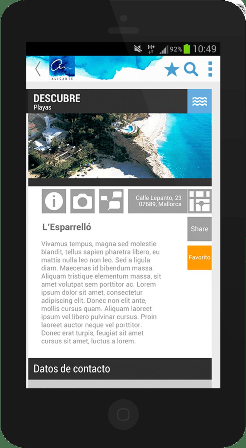 Alicante City mobile app 5