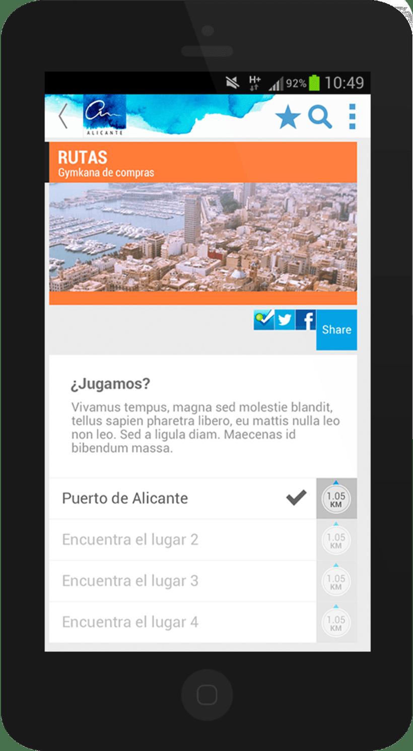 Alicante City mobile app 6