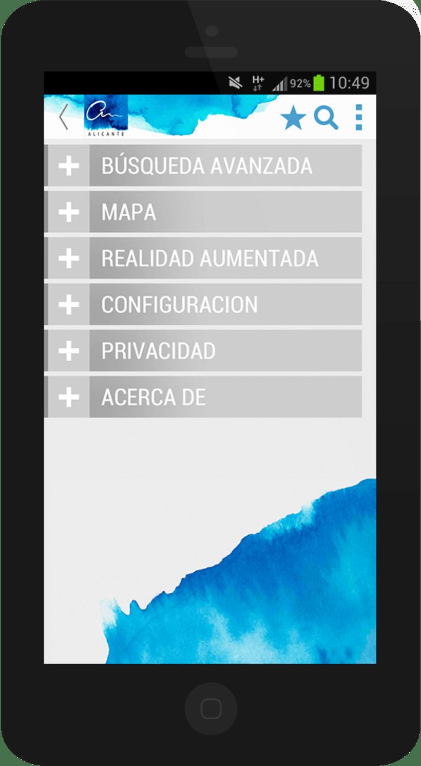 Alicante City mobile app 7
