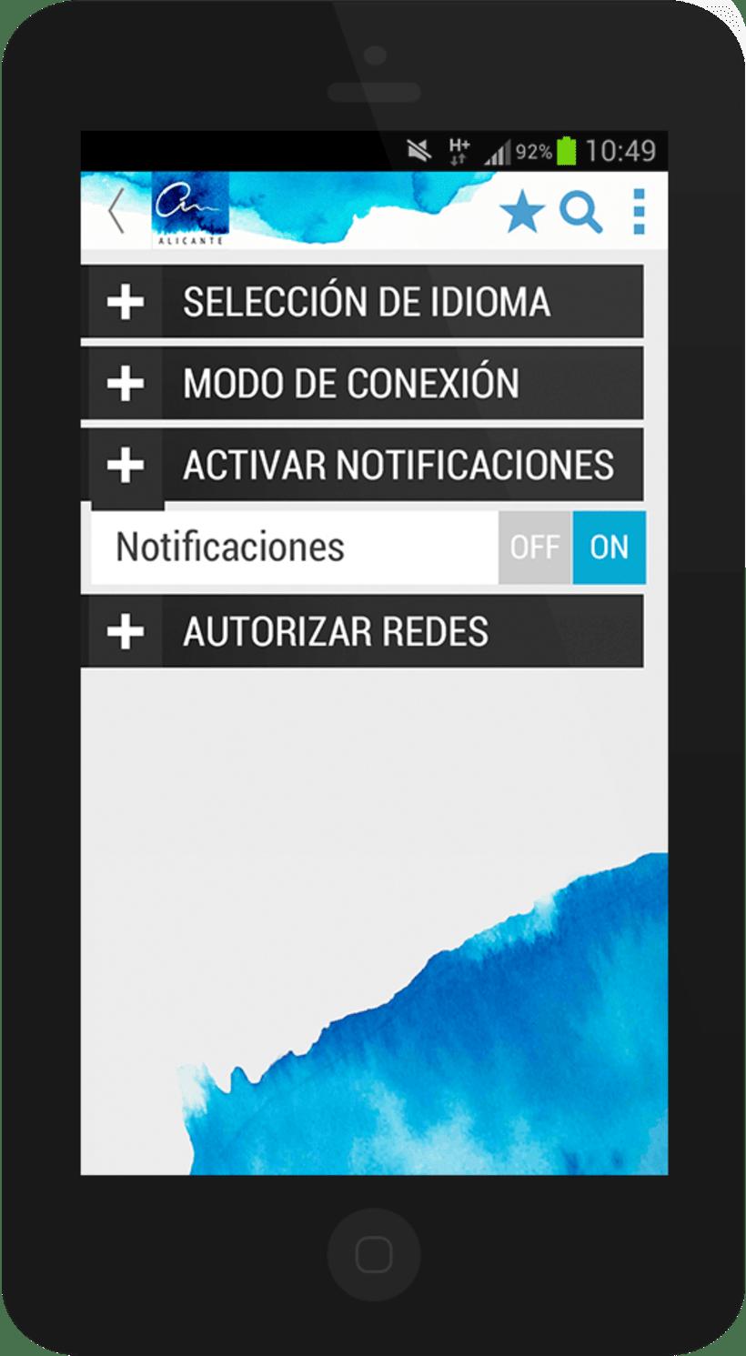 Alicante City mobile app 8