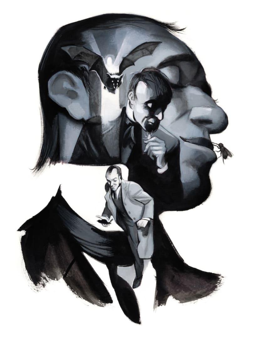 Drácula de Bram Stoker - Edición Ilustrada 1
