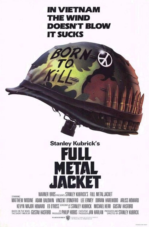 Poster FULL METAL JACKET Low Poly 2