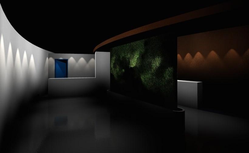 Pabellón Efímero para acústicos en La Isla de las Esculturas (Pontevedra) 1