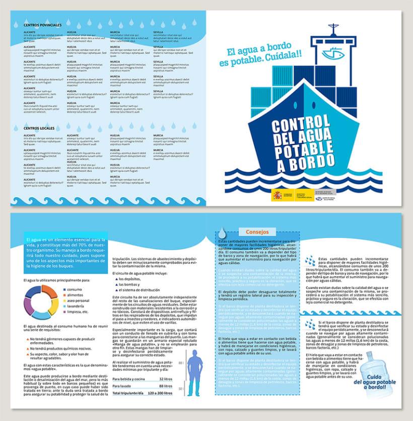Control del agua potable a bordo > Campaña para el ISM 0