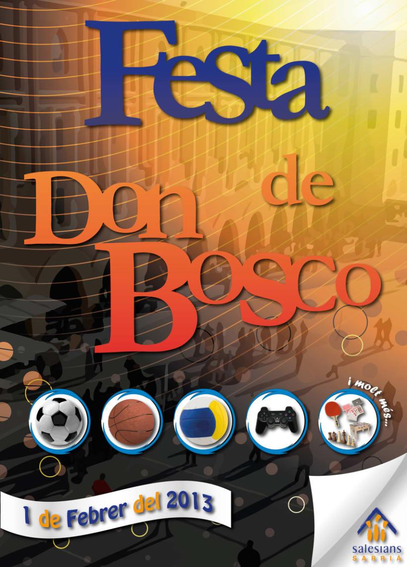 Cartel: Fiesta Escuela -1