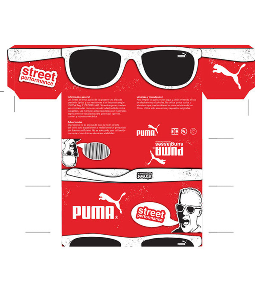 Puma glasses Street Performance 1