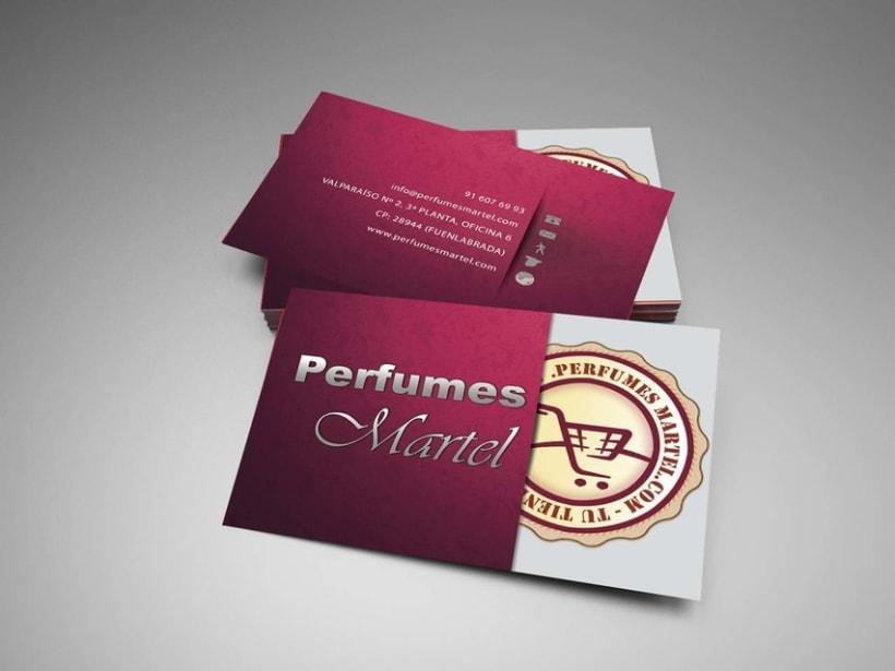Tajeta Perfumes Martel -1