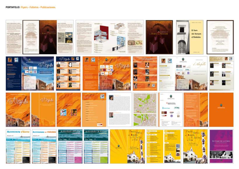 FLYERS. FOLLETOS. PUBLICACIONES. 2