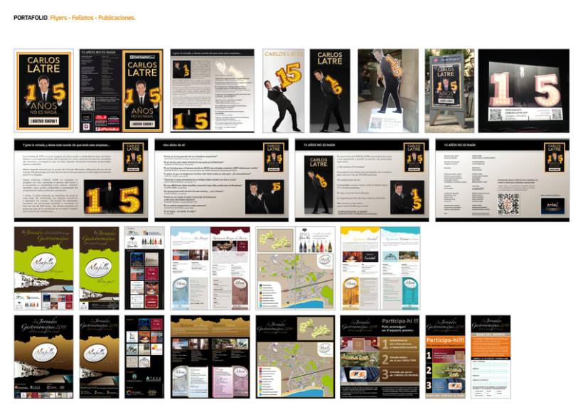 FLYERS. FOLLETOS. PUBLICACIONES. 0