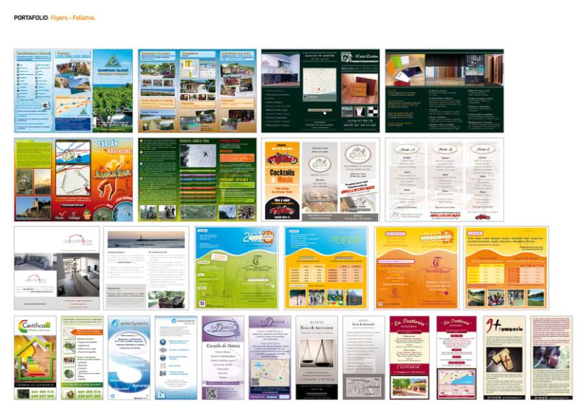 FLYERS. FOLLETOS. PUBLICACIONES. 5