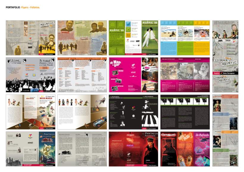 FLYERS. FOLLETOS. PUBLICACIONES. 3