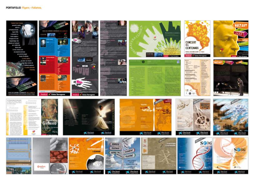 FLYERS. FOLLETOS. PUBLICACIONES. 4