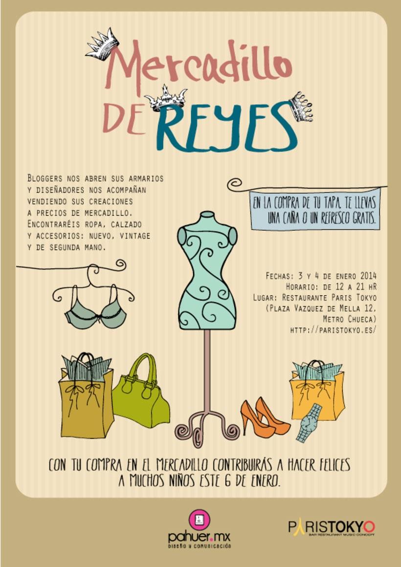 Mercadillo de Reyes. Comunicación -1