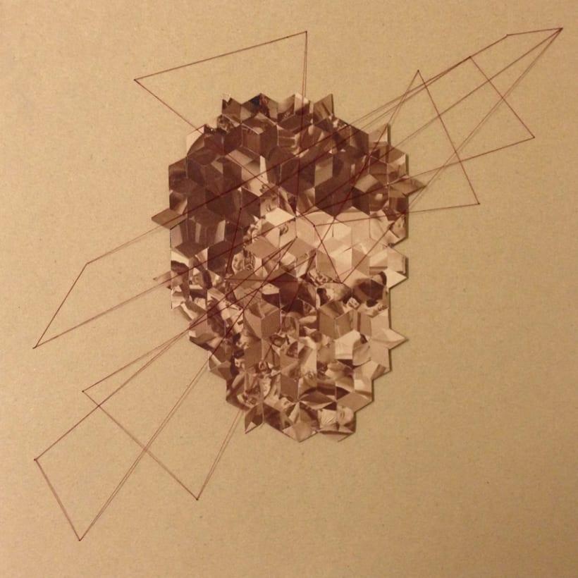 American Psycho - mi proyecto de collage geométrico 0