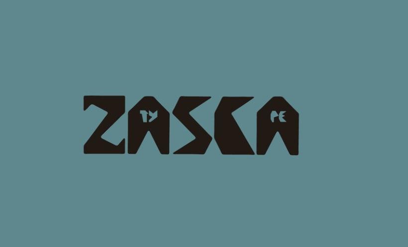 Zasca Typography 0