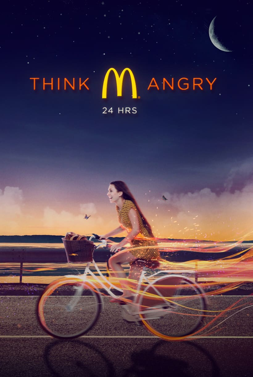 McDonalds: Think Angry 0