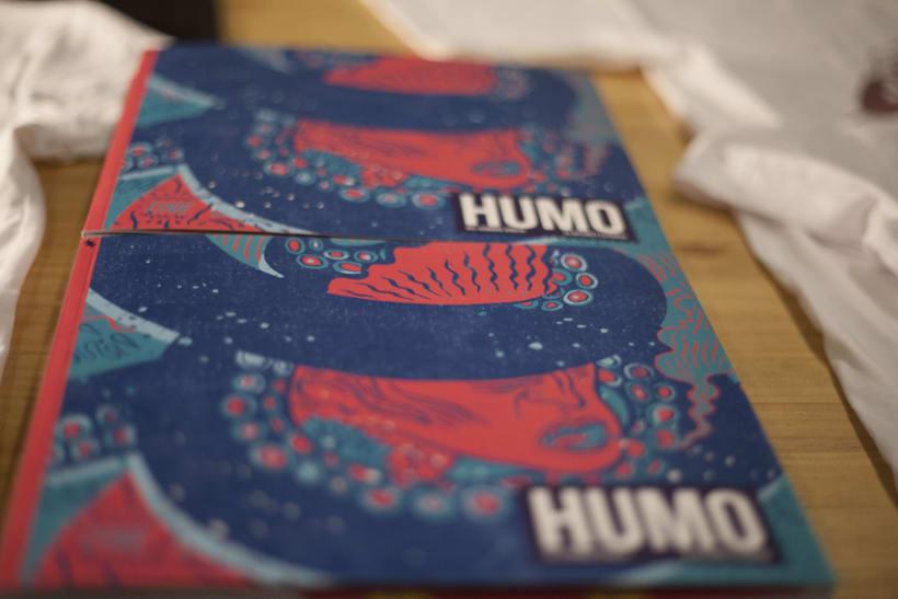 HUMO (Libro ilustrado) Del Hambre dibuja y 16 autores escriben. Publicación: MARZO 2014 1