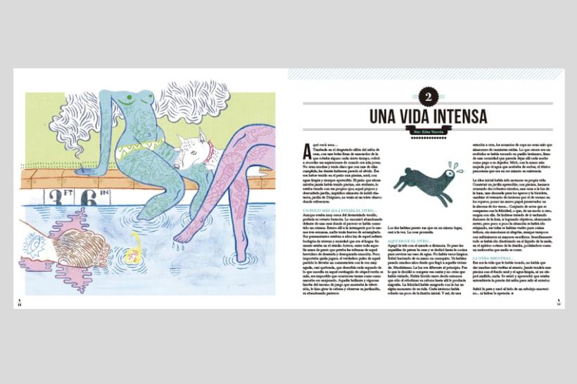 HUMO (Libro ilustrado) Del Hambre dibuja y 16 autores escriben. Publicación: MARZO 2014 5