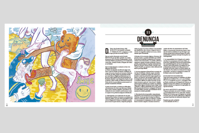 HUMO (Libro ilustrado) Del Hambre dibuja y 16 autores escriben. Publicación: MARZO 2014 17