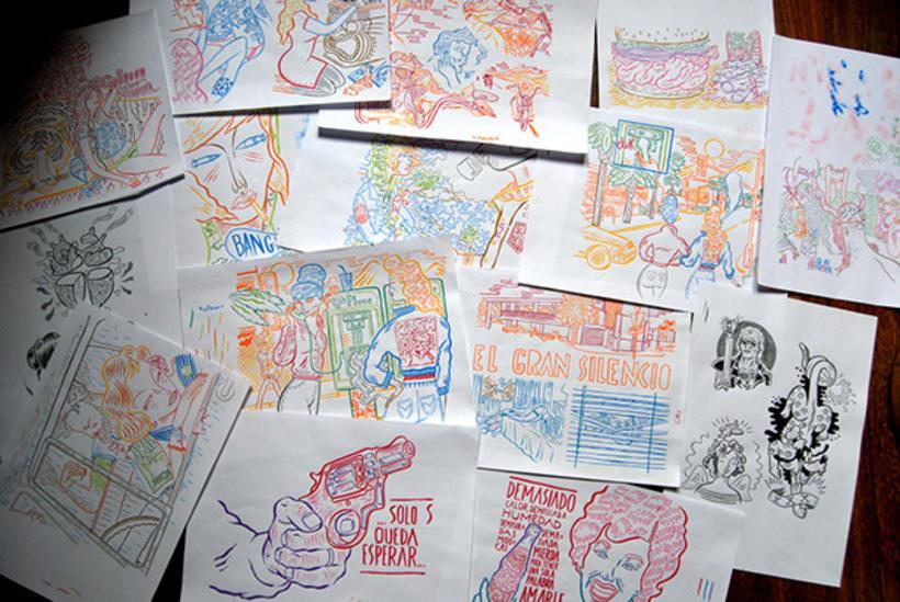 HUMO (Libro ilustrado) Del Hambre dibuja y 16 autores escriben. Publicación: MARZO 2014 3