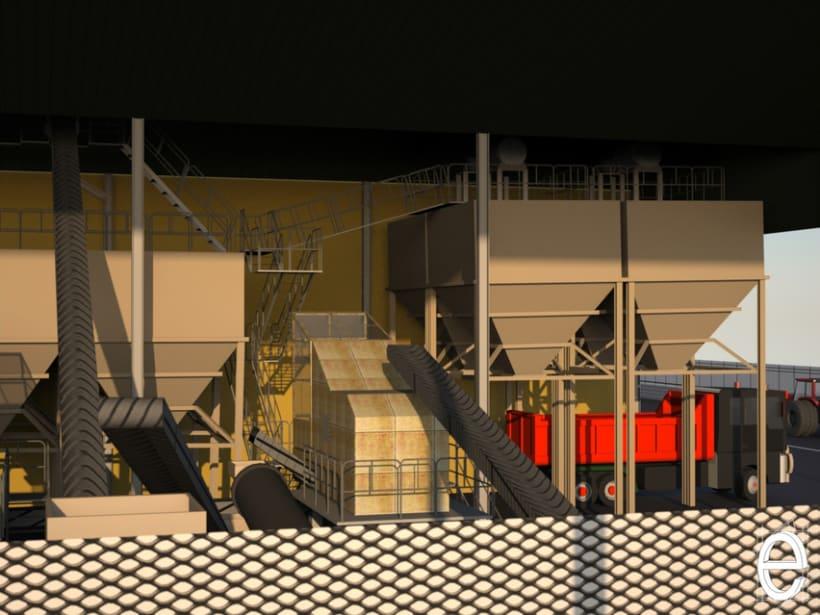 Diseño 3D Almazara 2