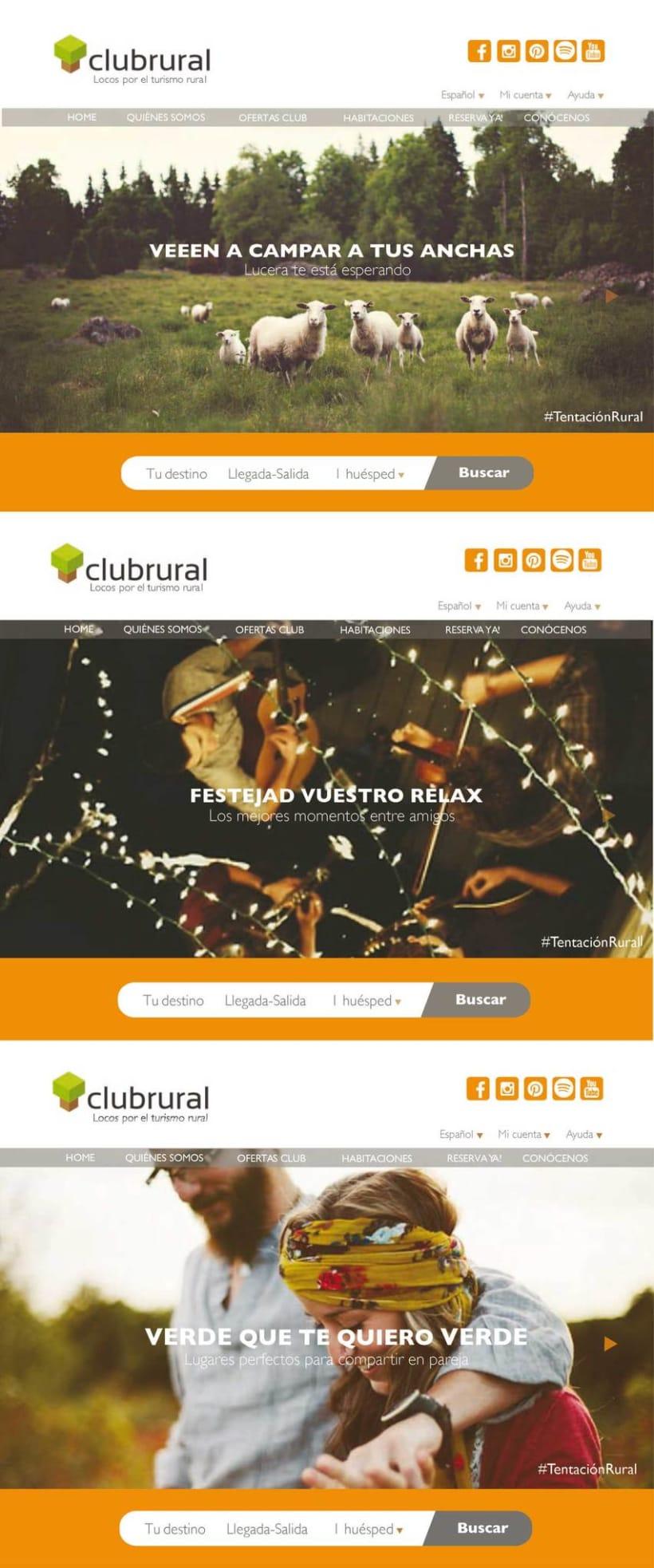 Página web buscador de Casas Rurales 0