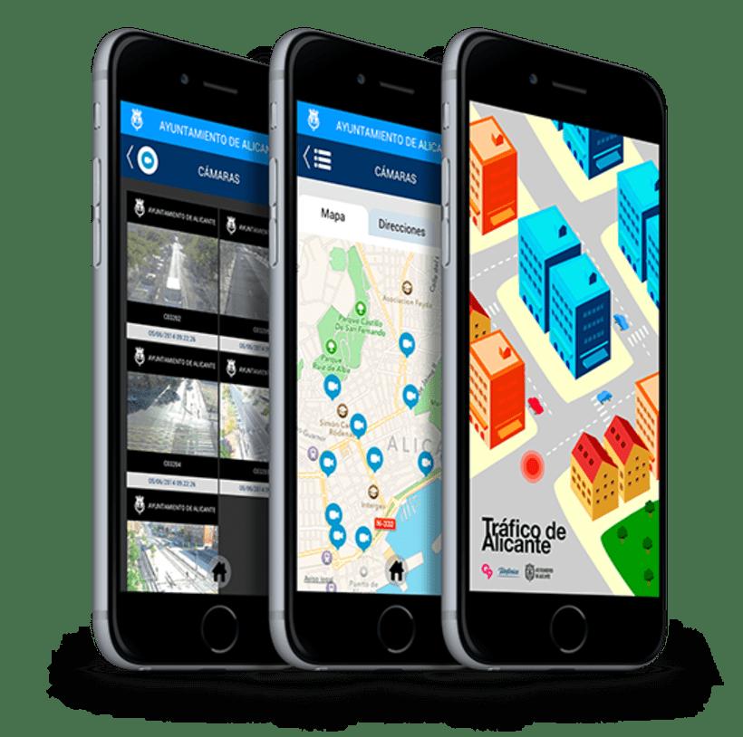 Tráfico de Alicante mobile app 6