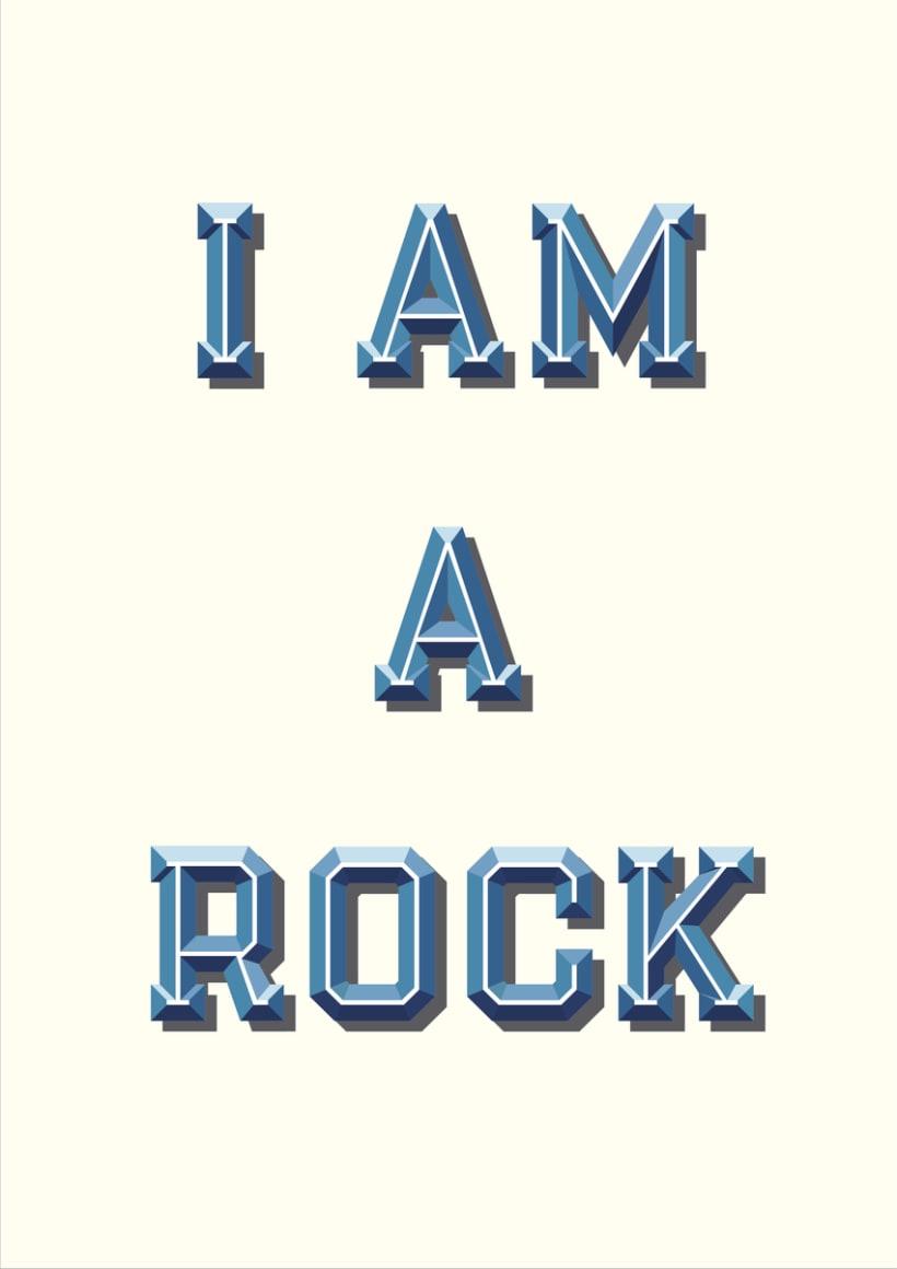 I am a rock 2
