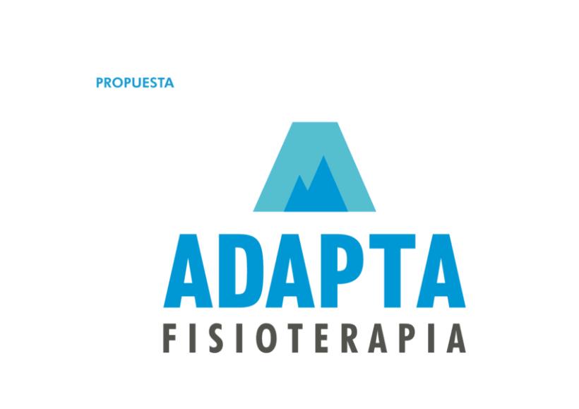 Imagen corporativa y web - Adapta Fisioterapia 4