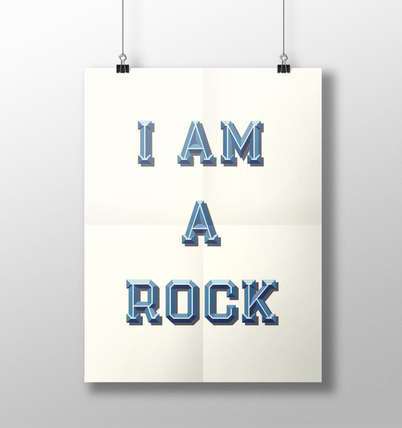 I am a rock 8
