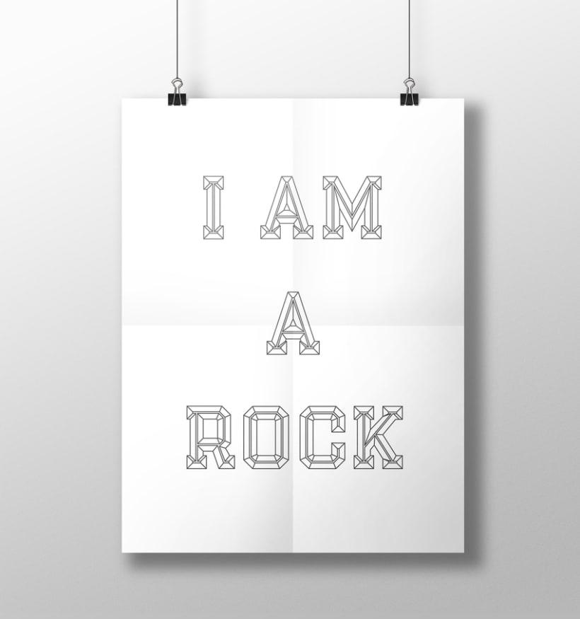 I am a rock 6