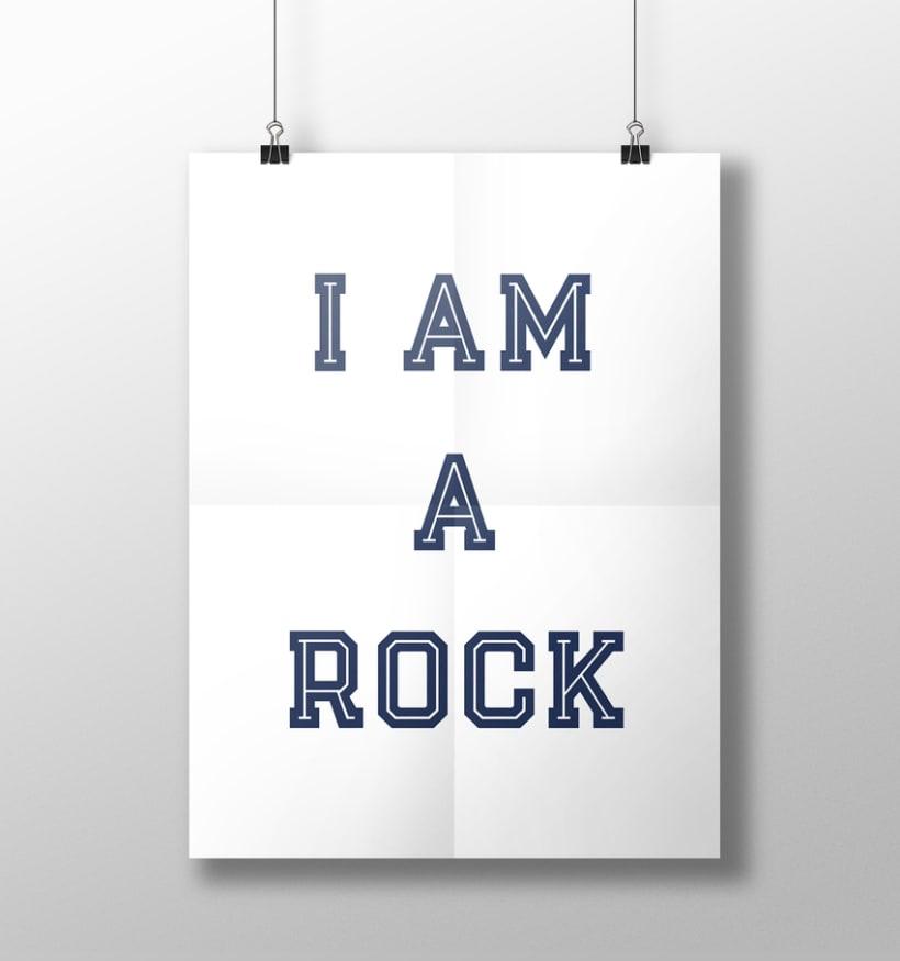 I am a rock 7