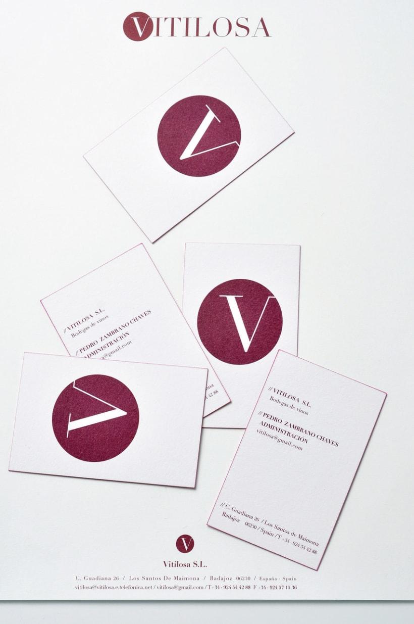 Papelería corporativa de Vitilosa 6