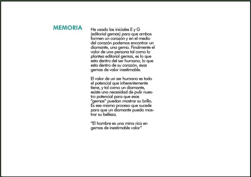Imagen Corporativa - Editorial Gemas 0