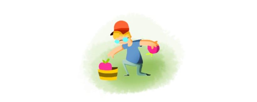 Ilustraciones para Juego en Facebook. Pink Lady. 2