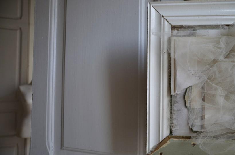 """""""mi primer poema"""". Técnica Collage. Tapa dura de libros rescatados y tul. 0"""
