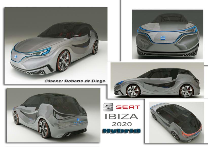 Seat ibiza Concept car 1
