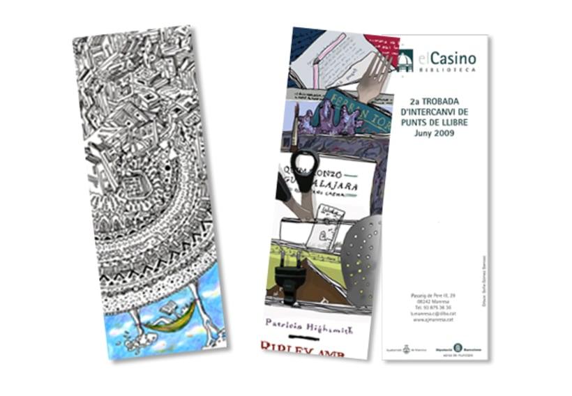 Puntos de Libro Biblioteca Casino Manresa -1
