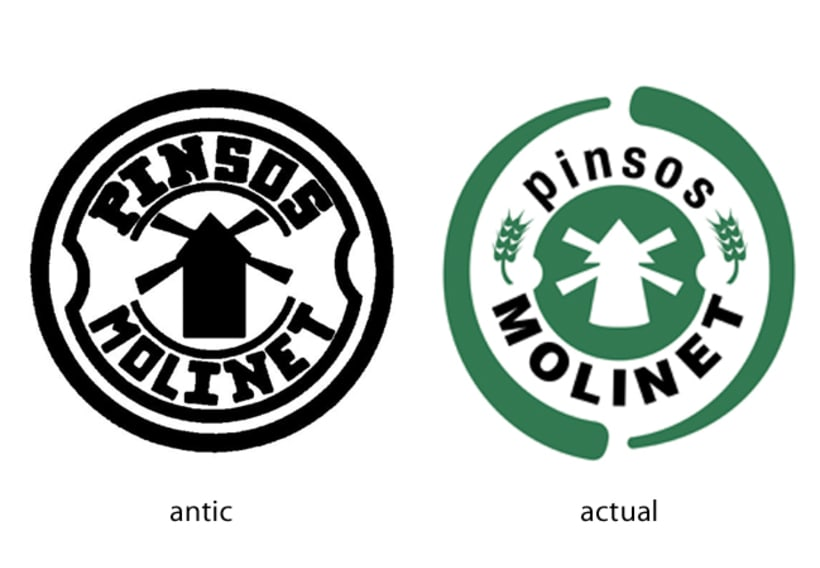 Rediseño Logotipo 'Pinsos Molinet' -1
