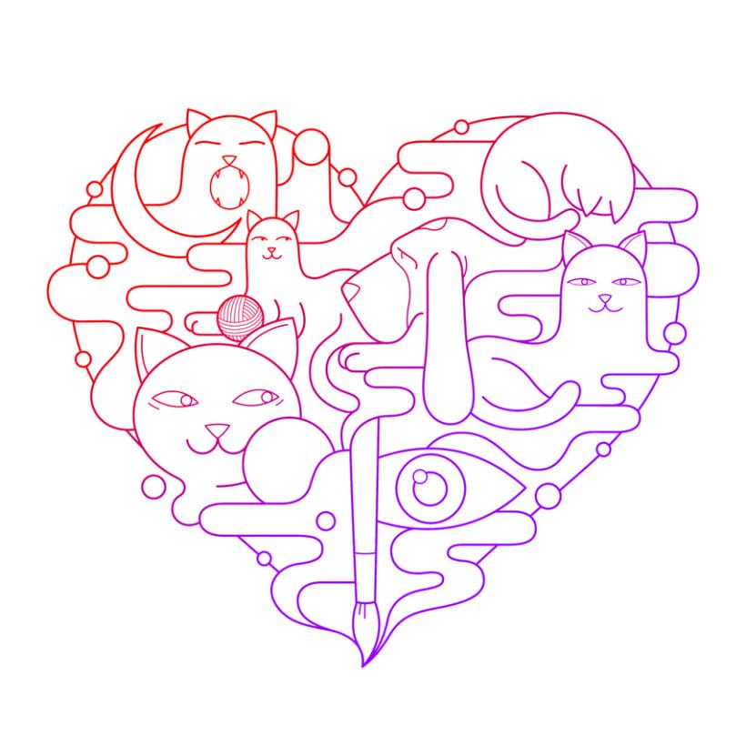 Cats & love -1
