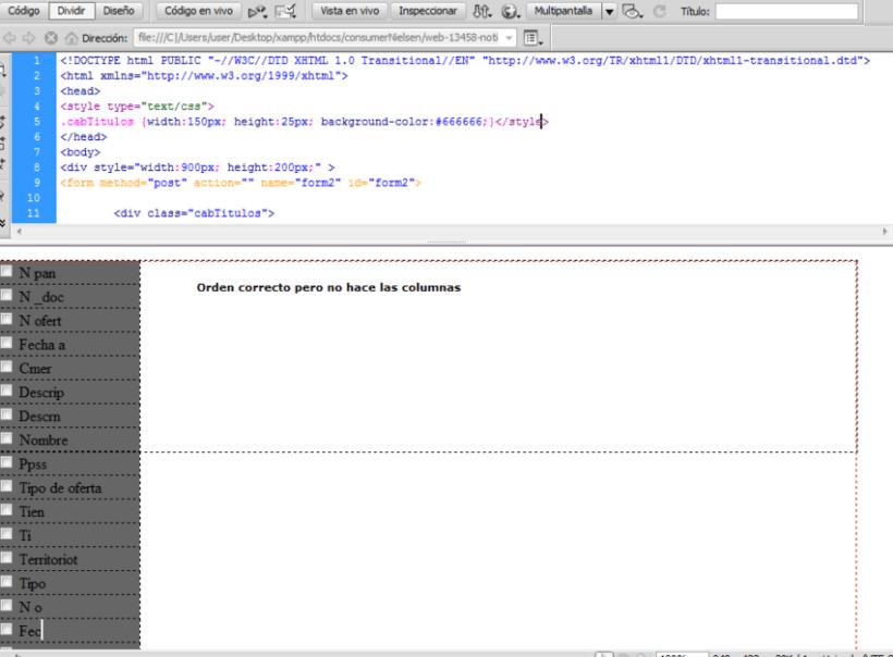 Ayuda con div en CSS. Ordenar uno de bajo del otro 2