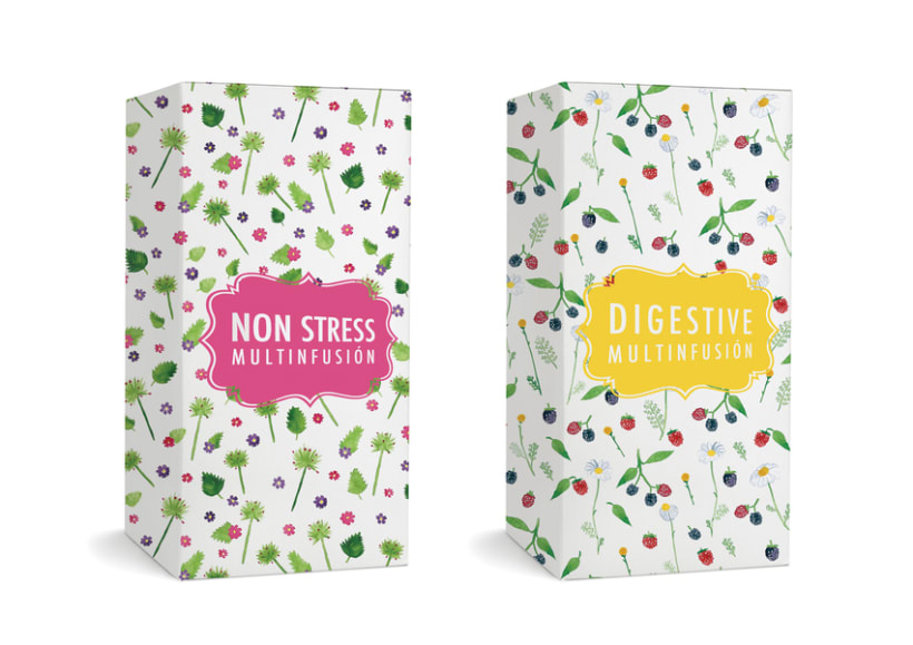 Packaging para INFUSIONES -1
