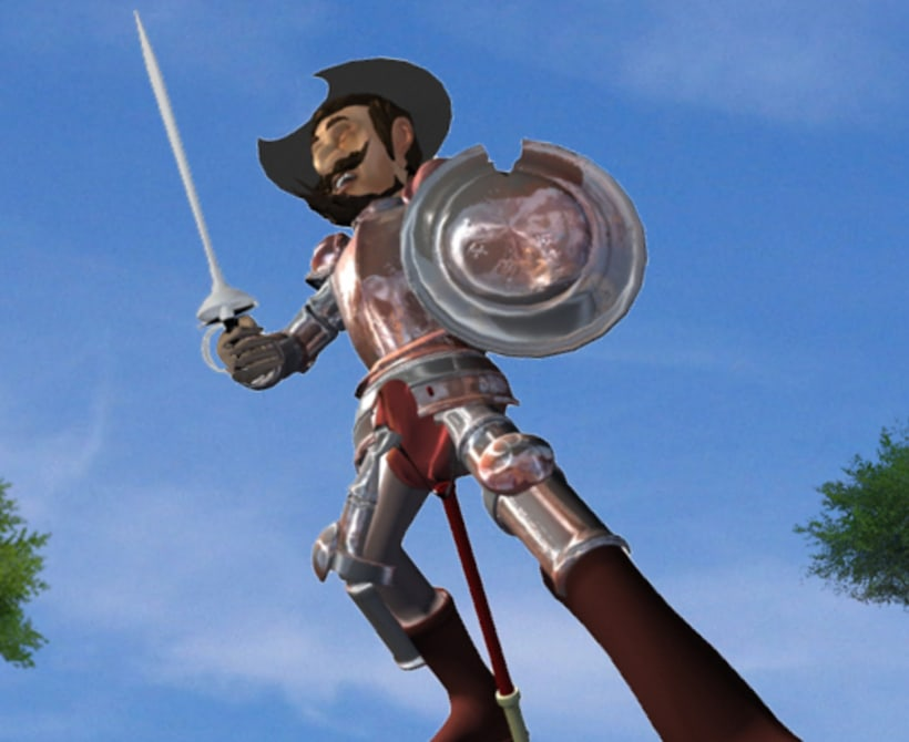 Don Quijote 3d.  -1