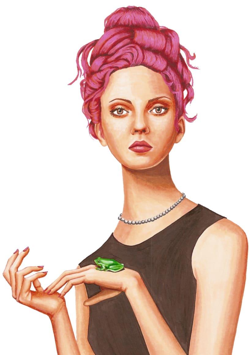 Ilustraciones de Moda 2