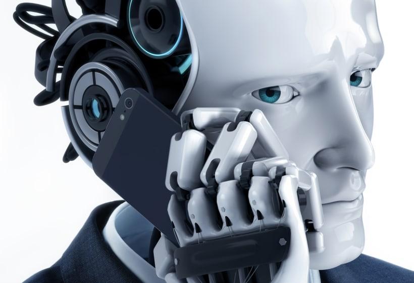 Robot trajeado 0