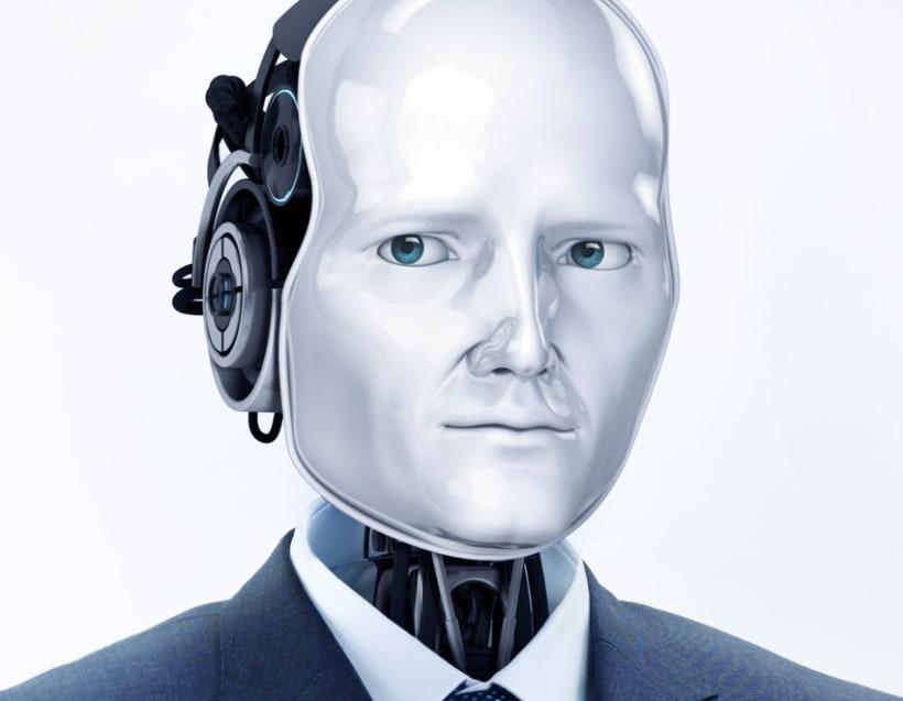Robot trajeado 1