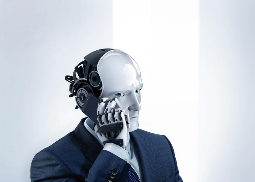 Robot trajeado 2