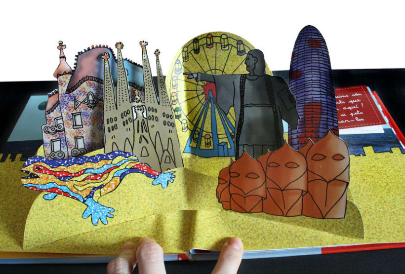 Pop Up Book (Personal Work) 1